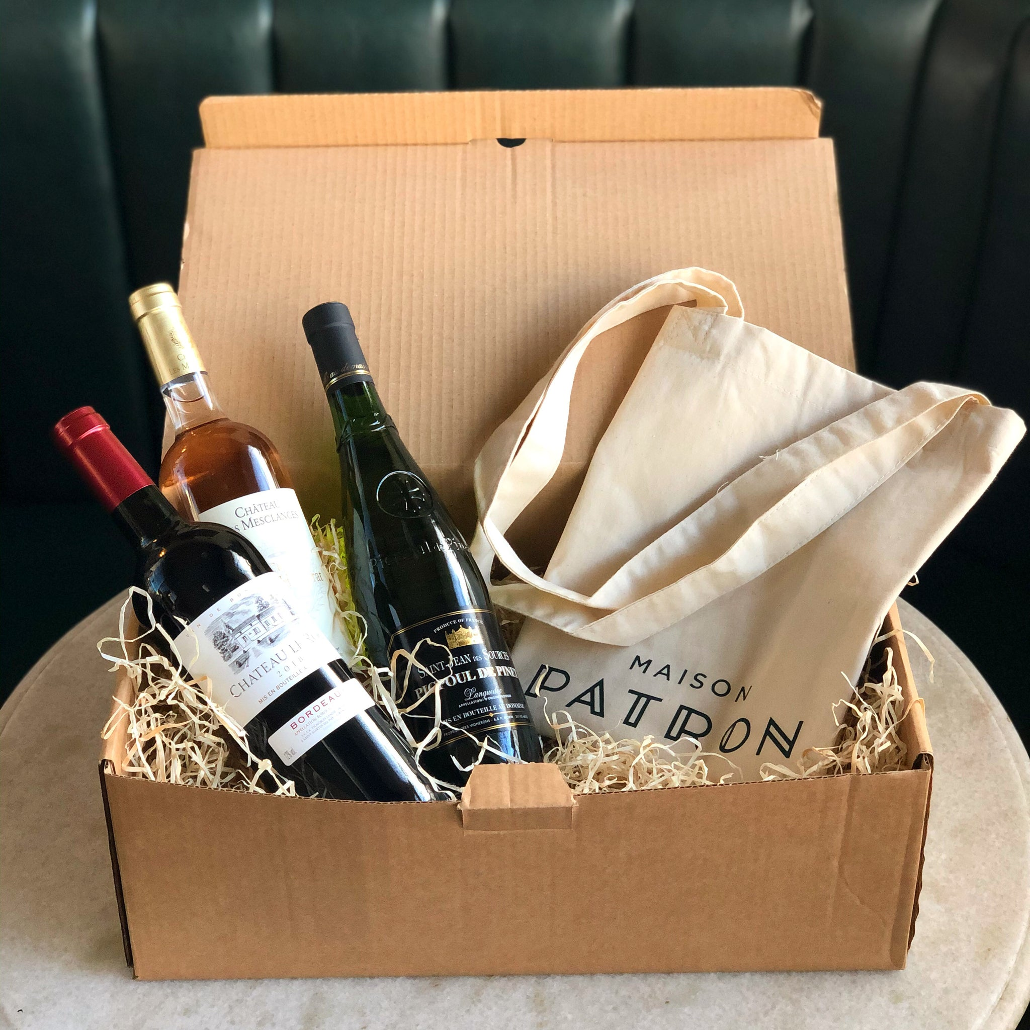 French wine box