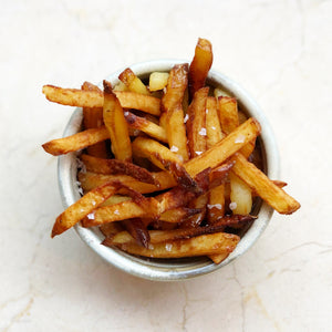 Duck fat frites