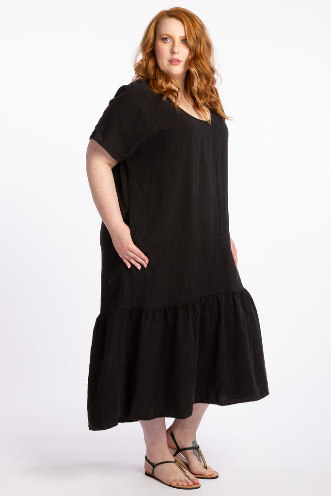 A Million Dreams Maxi Dress - Black - Harlow