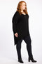 Simply The Best Oversized Top - Black