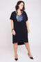Diva Slouch Dress - Black