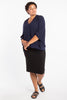 Dressed For Success Pencil Skirt - Black - Harlow