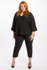 Because The Night Tuxedo Pant - Black/Black - Harlow