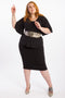 Dressed For Success Pencil Skirt - Black