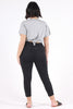Black Betty Denim - Crop - Harlow
