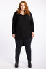 Simply The Best Oversized Top - Black - Harlow