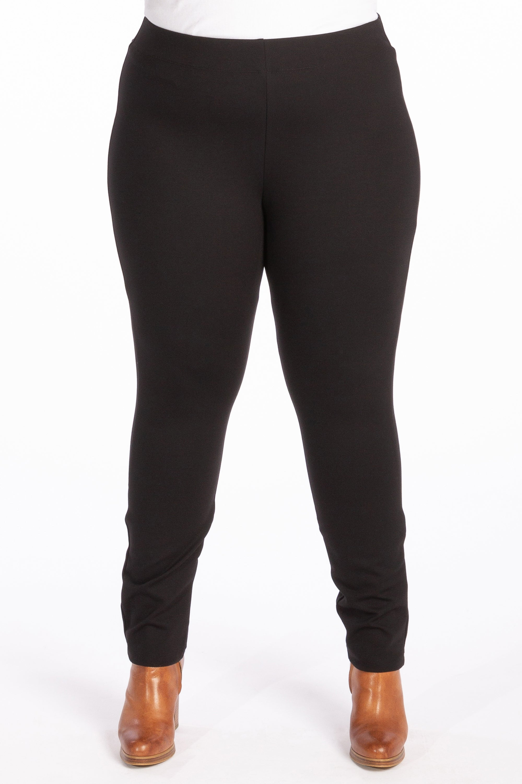 The Essential Ponte Legging - Black - Harlow