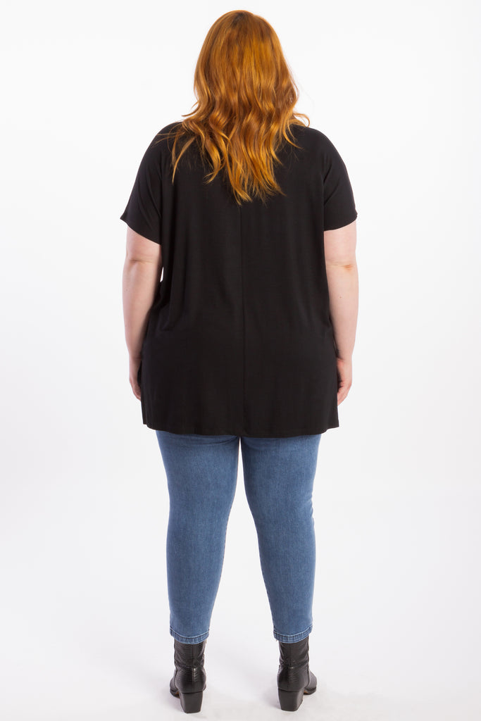 Right By Your Side Tee - Black - Harlow