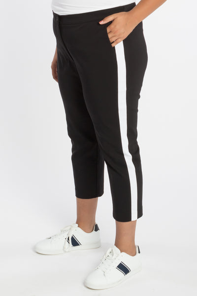 Because The Night Tuxedo Pant - B&W - Harlow