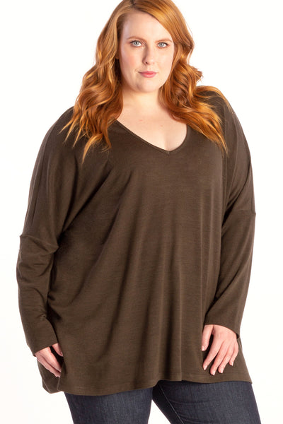 Somebody to Love Knit Top - Khaki - Harlow
