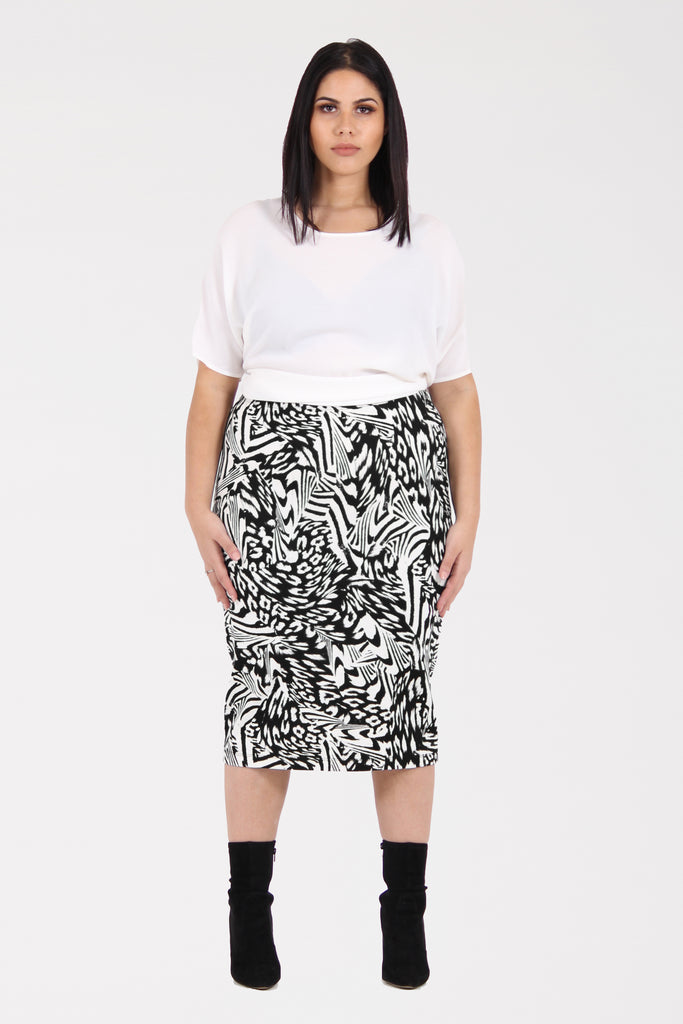 The Woman In Me Midi Skirt - Harlow