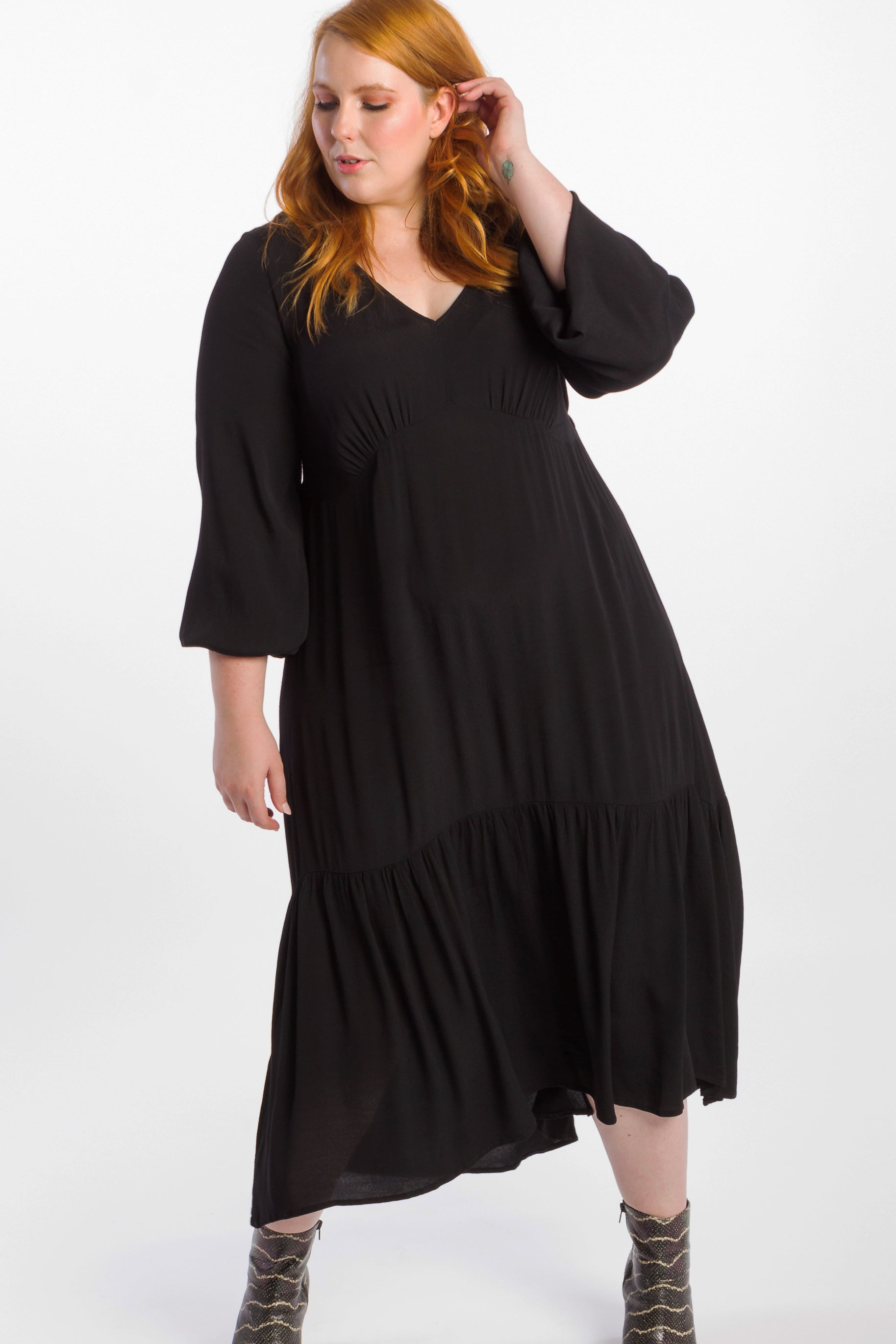 Devoted To You Maxi Dress - Black