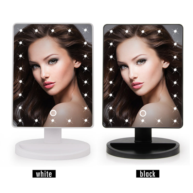 LED Touch Screen Makeup Mirror Professional Vanity