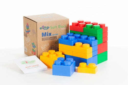 Uniplay Soft Building Blocks - Mix Series