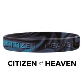 Citizen of Heaven Silicone Bracelet