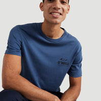 Rocky Mountains T-Shirt | Ensign Blue