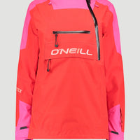 GORE-TEX 2-Layer Psycho Tech Anorak | Fiery Red