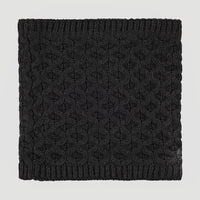 Nora Wool Tube Scarf | Black Out