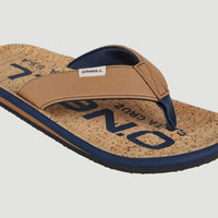 Chad Fabric Sandals | Tobacco Brown