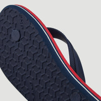 Profile Summer Sandals | Blue With Red