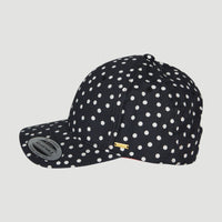 Beach Cap | Black With White