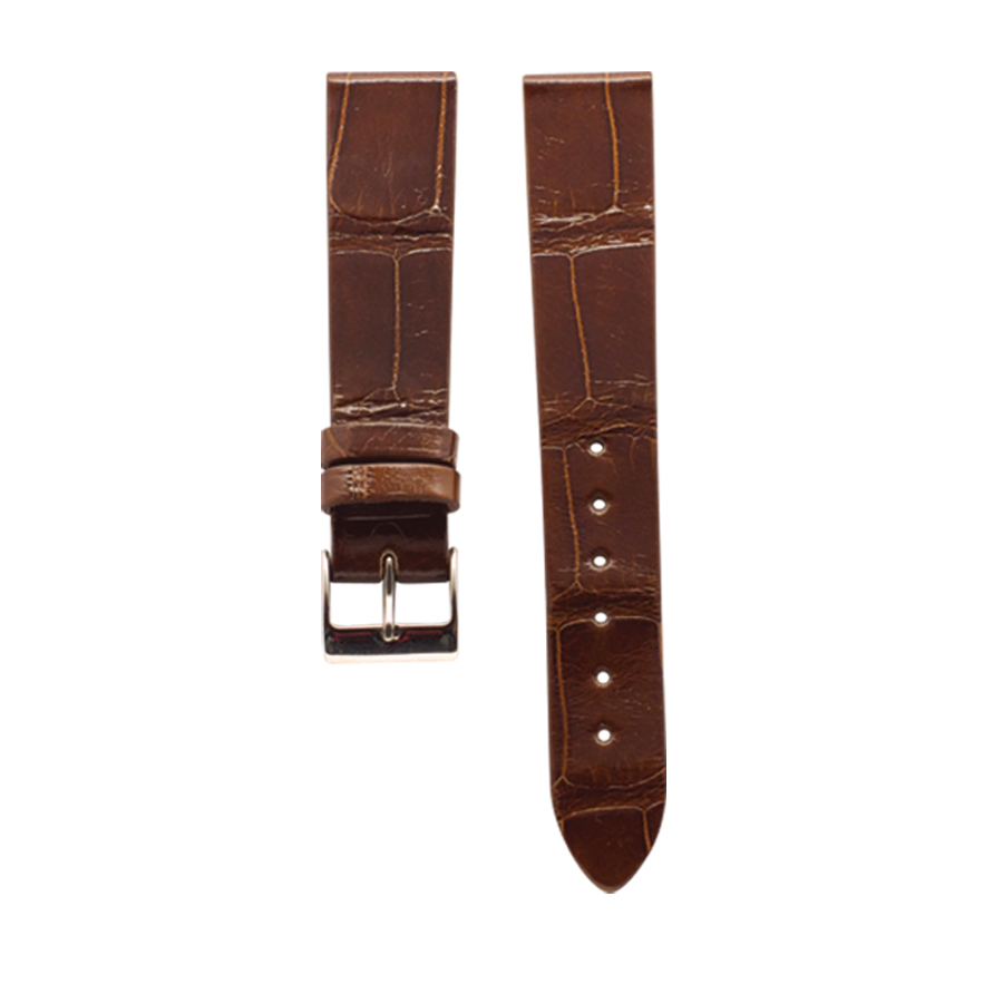 Crocodile Leather 'Glossy Marrakech