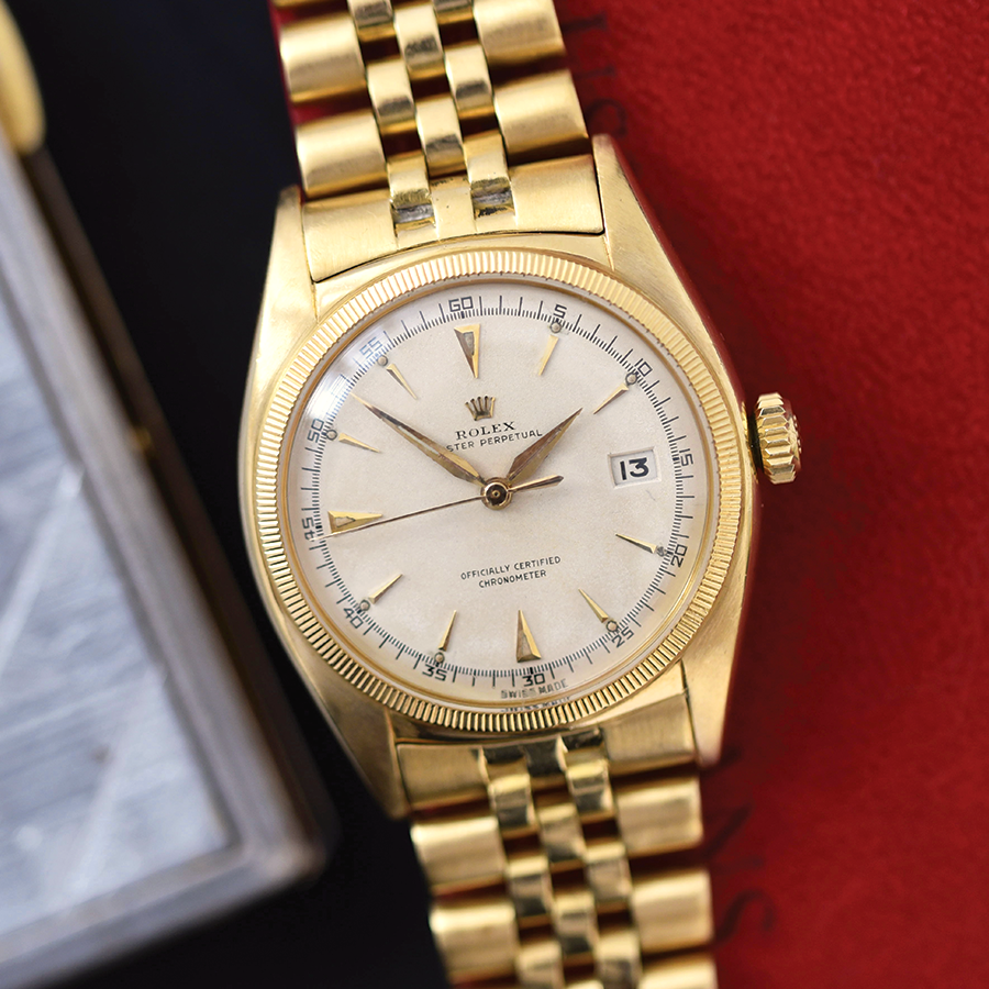 Rolex Datejust 6075 18k Gold
