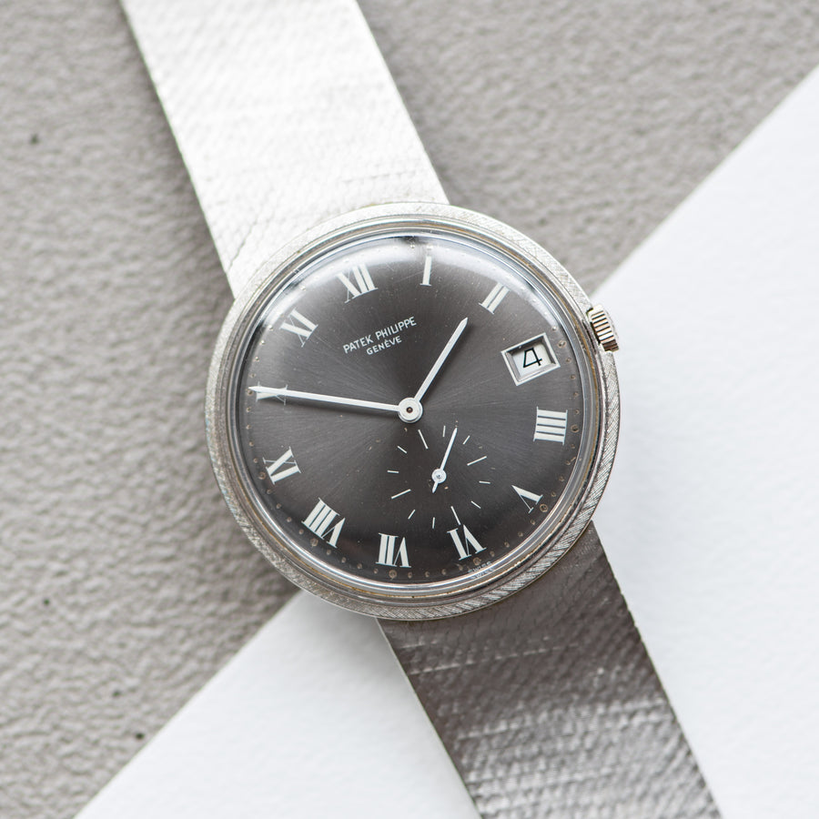 Patek Philippe 3445 White Gold Grey Dial