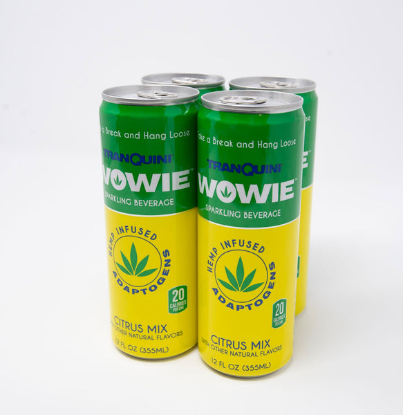 Citrus Mix Sparkling Beverage 4-Pack 80MG CBD
