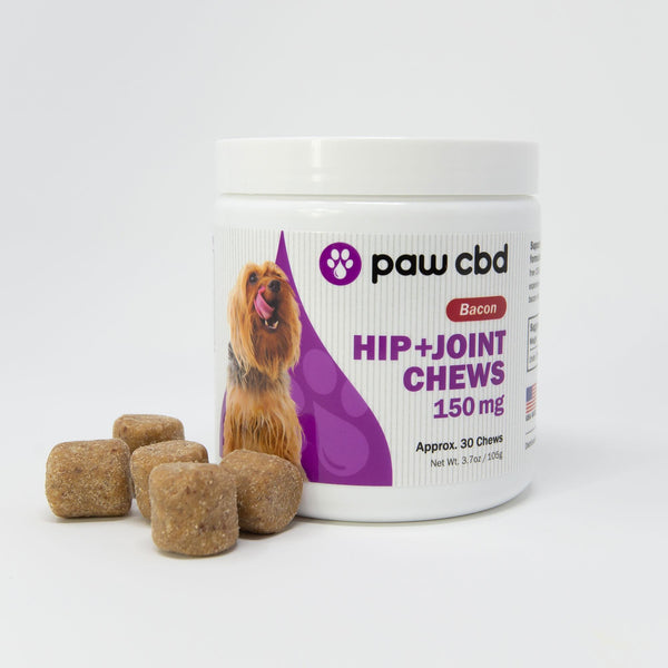 Bacon Hip & Joint CBD Soft Chews for Dogs 150MG CBD