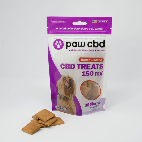 Baked Cheese Paw CBD Dog Treats 150MG CBD