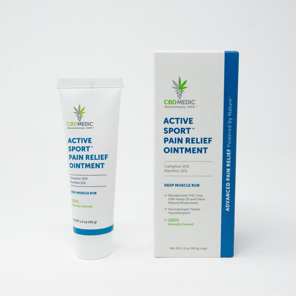 Active Sport™ Pain Relief Ointment 200MG CBD