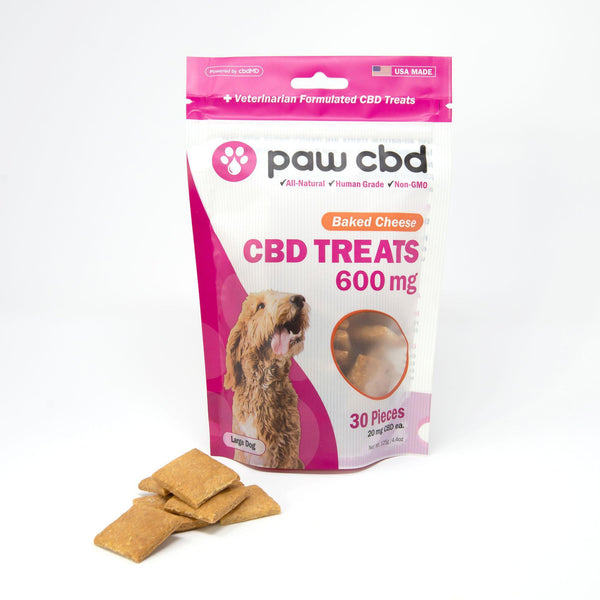 Baked Cheese Paw CBD Dog Treats 600MG CBD