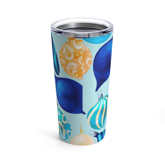 Blue Bulbs 20oz Stainless Steel Tumbler - TumblerMountainGoods