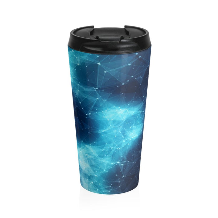 Blue Nebula 15oz Stainless Steel Tumbler - TumblerMountainGoods
