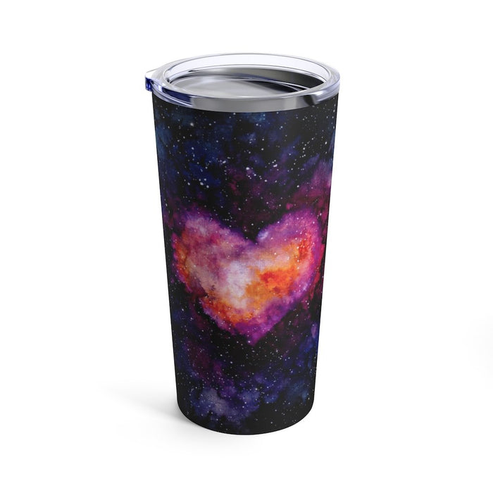 Space Heart 20oz Stainless Steel Tumbler - TumblerMountainGoods