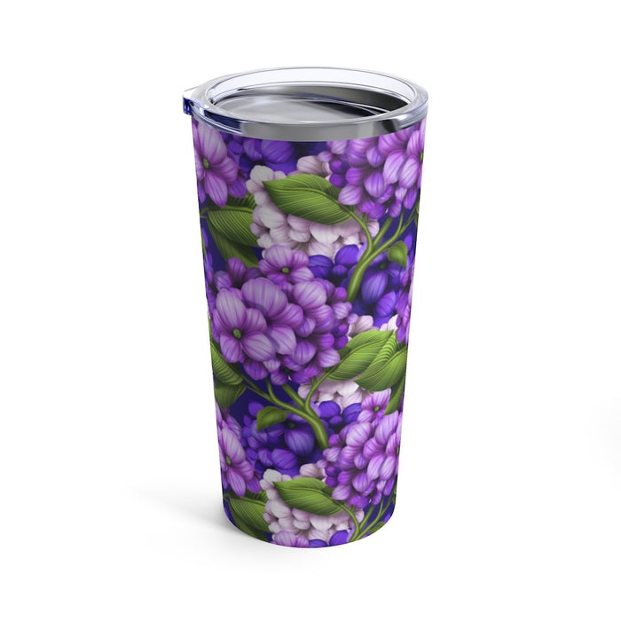Hydrangea 20oz Stainless Steel Insulated Tumbler - TumblerMountainGoods