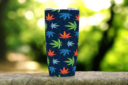 Cannabis Daze 20oz Stainless Steel Tumbler - TumblerMountainGoods