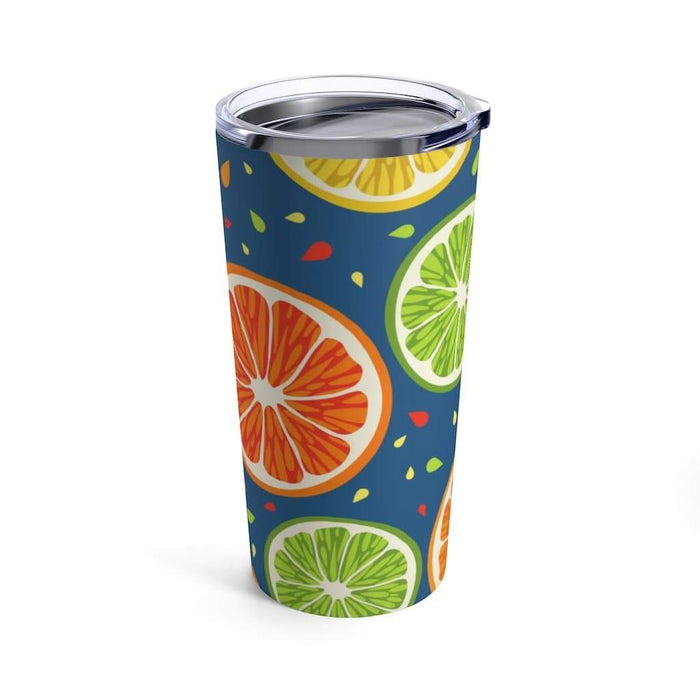 Lime Slice 20oz Stainless Steel Tumbler - TumblerMountainGoods