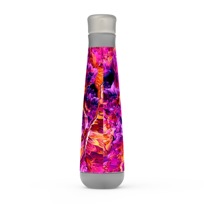 Abstract Fire Peristyle Bottle: Insulated Water Bottle - TumblerMountainGoods