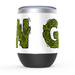 Cannabis Green Stemless Tumbler: Insulated Wine Tumbler - TumblerMountainGoods
