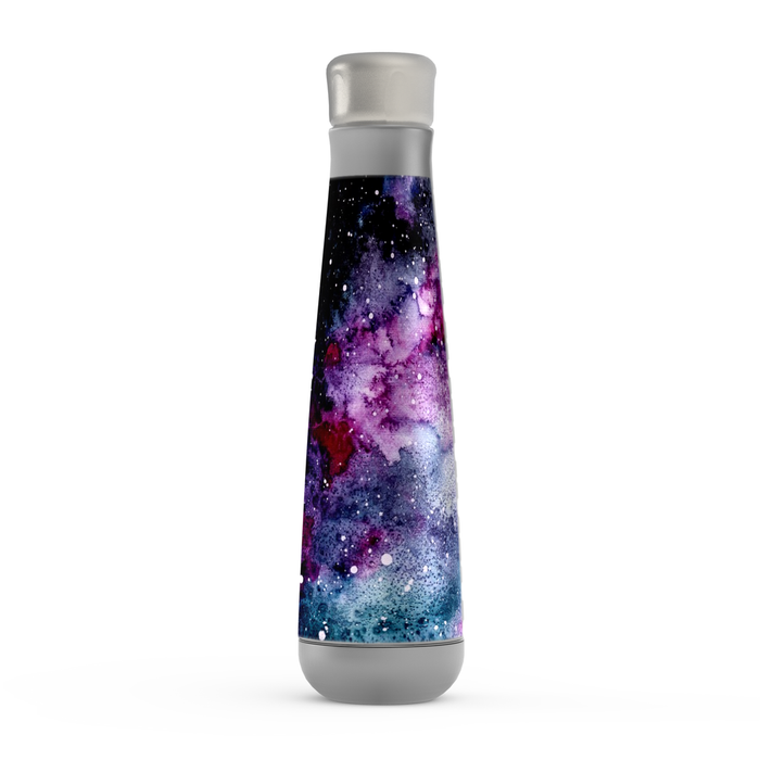 Purple Galaxy Peristyle Bottle: Insulated Water Bottle - TumblerMountainGoods