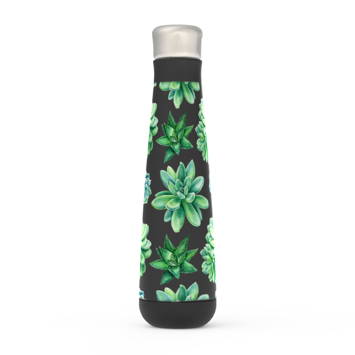 Succulent Peristyle Bottle: Insulated Water Bottle - TumblerMountainGoods