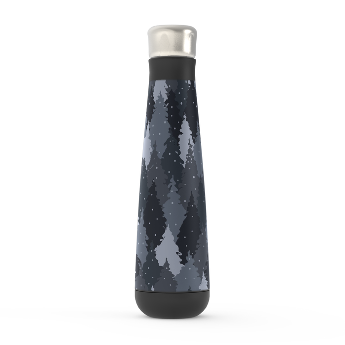 Camo Forest Grey Peristyle Bottle: Insulated Water Bottle - TumblerMountainGoods