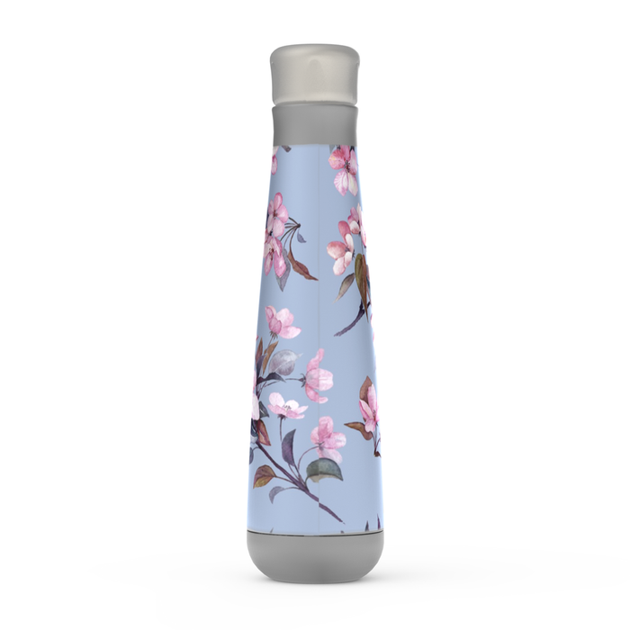 Pink Blossoms Peristyle Bottle: Insulated Water Bottle - TumblerMountainGoods