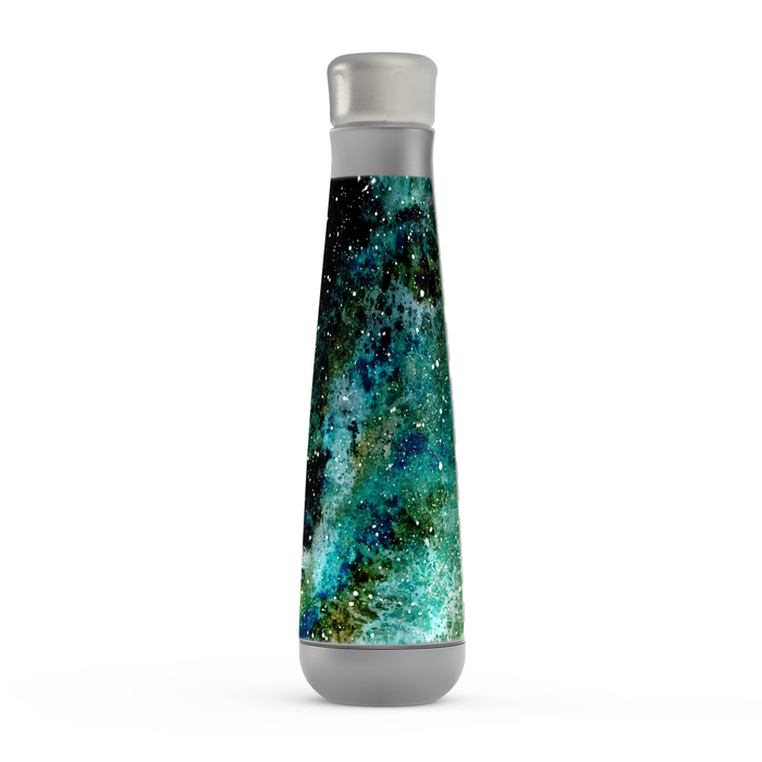 Turquoise Galaxy Peristyle Bottle: Insulated Water Bottle - TumblerMountainGoods