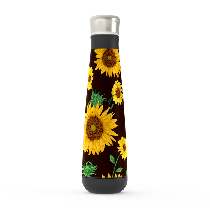 Spring Sunflowers Peristyle Bottle: Insulated Water Bottle - TumblerMountainGoods