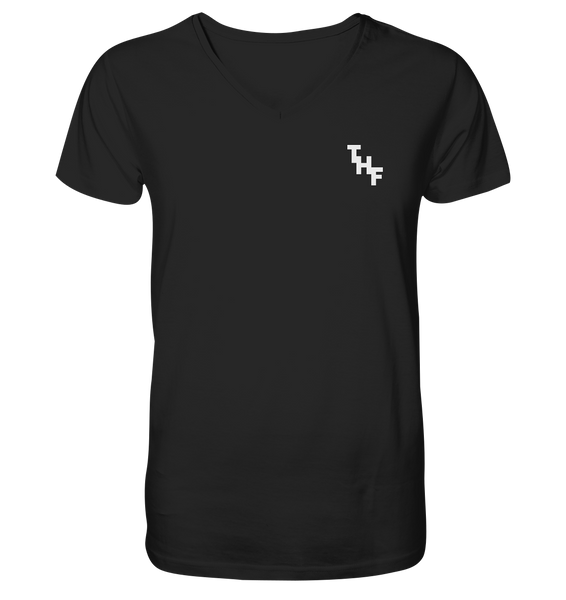 V-NECK SHIRT - THF (Schwarz)