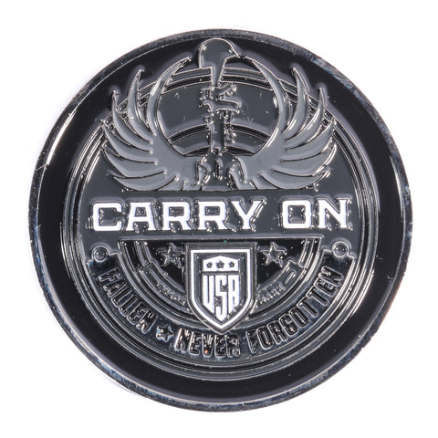 Carry On Challenge Coin