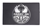 Carry On PVC patch